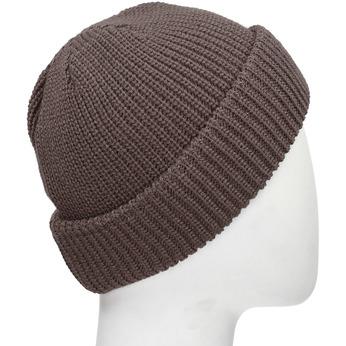Hnědá pletená čepice s ohrnutým okrajem bata, hnědá, 909-8690 - 13