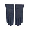 Tmavě modré dámské kožené rukavice junek, modrá, 944-9101 - 26