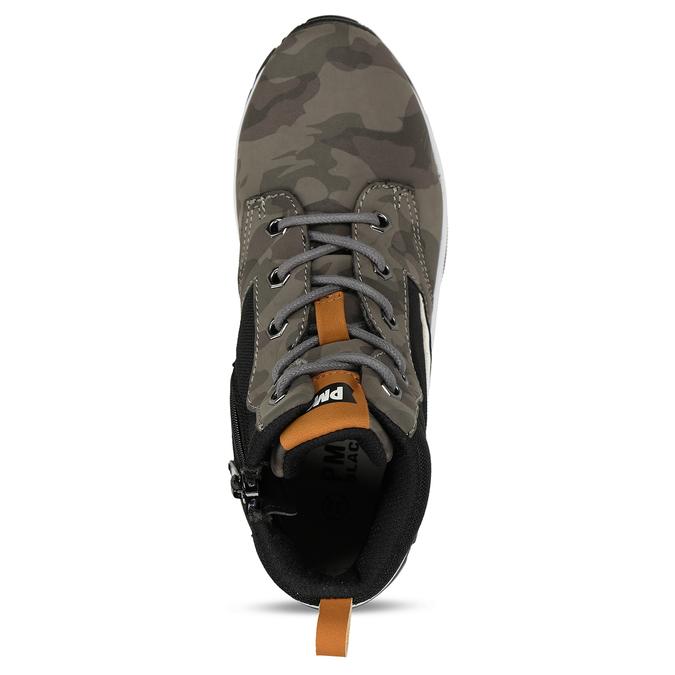 Kožené šedé chlapecké kotníkové tenisky primigi, šedá, 319-2621 - 17