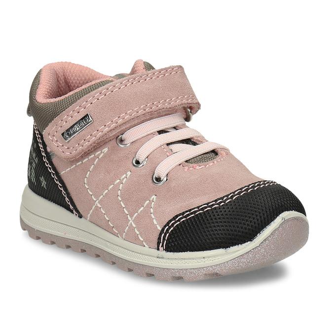 Růžová kožené dětská a obuv v outdoorovém stylu primigi, růžová, 123-5622 - 13