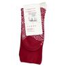 Červené dámské zimní ponožky bata, červená, 919-5738 - 16