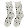 Sady tří dámských vánočních ponožek bata, zlatá, 919-0917 - 15