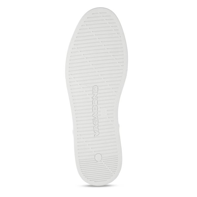 Bílé pánské kožené tenisky vagabond, bílá, 844-1602 - 18