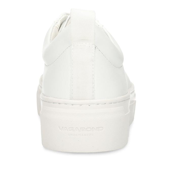 Bílé dámské kožené tenisky vagabond, bílá, 544-1609 - 15