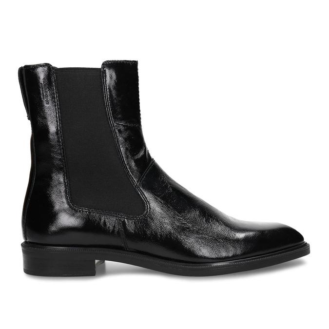 Černá kožená dámská obuv v Chelsea stylu vagabond, černá, 598-6629 - 19