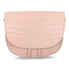 Růžová kožená dámská kabelka s hadím vzorem bata, růžová, 964-5606 - 26