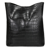 Černá dámská kabelka s hadím vzorem bata, černá, 961-6746 - 26