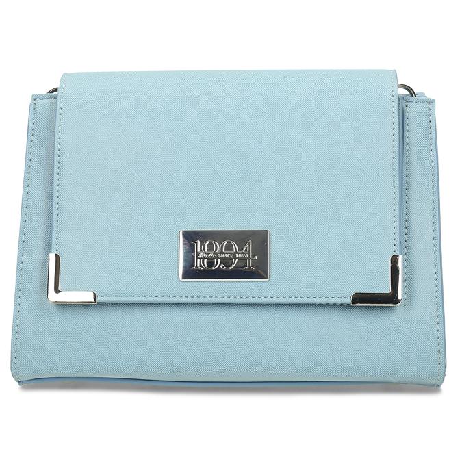 Modrá dámská crossbody kabelka bata, modrá, 961-9611 - 26