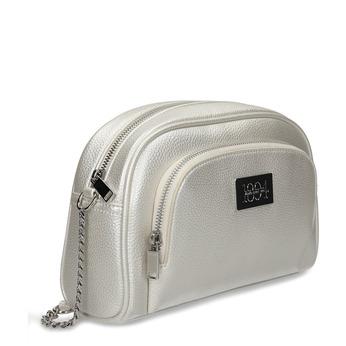 Stříbrná dámská crossbody kabelky bata, bílá, 961-1612 - 13