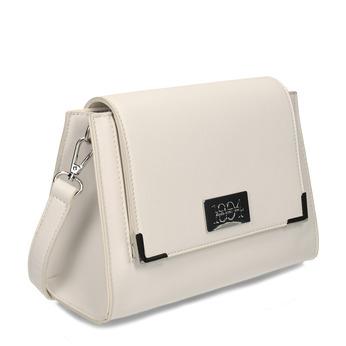 Malá bílá kabelka přes rameno bata, bílá, 961-5611 - 13