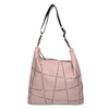 Růžová dámská kabelka s geometrickým vzorem bata, růžová, 961-5674 - 26