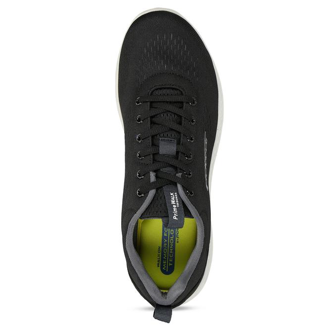 Černé pánské sportovní tenisky s paměťovou pěnou power, černá, 809-6650 - 17
