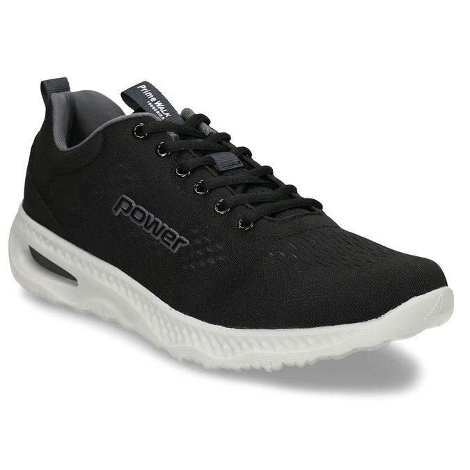 Černé pánské sportovní tenisky s paměťovou pěnou power, černá, 809-6650 - 13