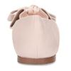 Růžové dámské baleríny s koženou stélkou bata, růžová, 521-1614 - 15