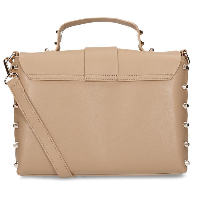 Béžová dámská kabelka s hroty bata, béžová, 961-8640 - 16
