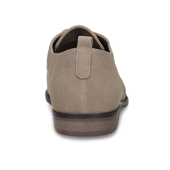 Béžové dámské polobotky bata, béžová, 521-8603 - 15