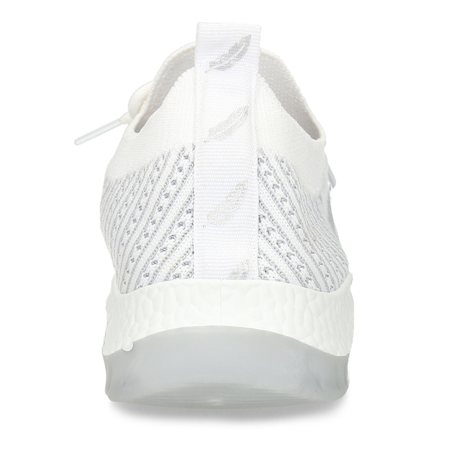 Bílé dámské odlehčené sportovní tenisky bata-light, bílá, 529-1600 - 15