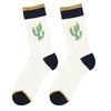 Modré pánské ponožky s kaktusy bata, modrá, 919-9638 - 15