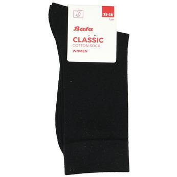 Černé dámské ponožky bata, černá, 919-2620 - 13