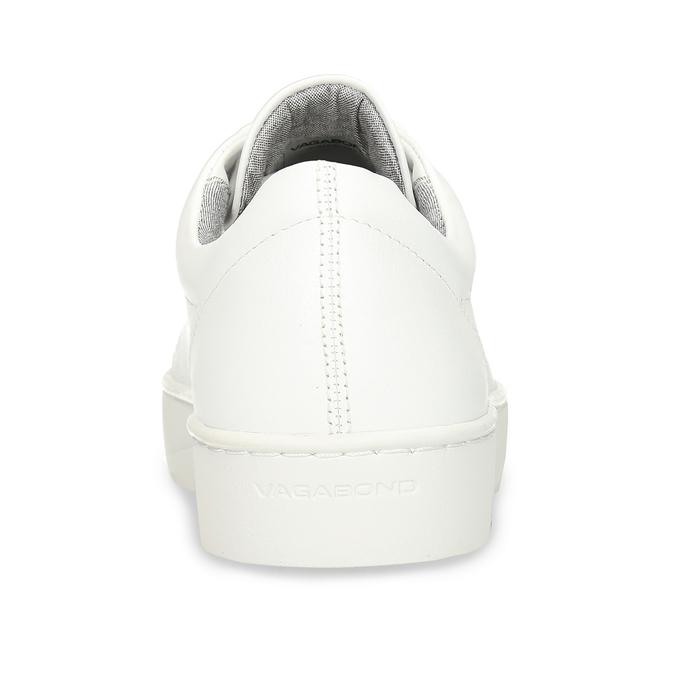 Bílé kožené dámské tenisky vagabond, bílá, 544-1618 - 15