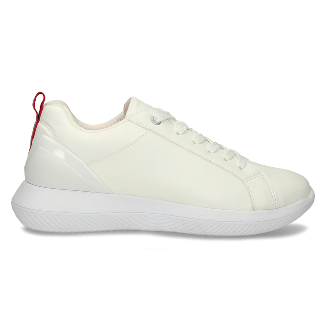 Bílé dámské tenisky bata, bílá, 541-1622 - 15