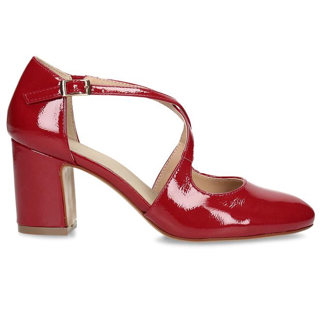7215606 bata, červená, 721-5606 - 19