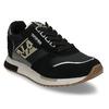 Černé dámské kožené sneakersky napapijri, černá, 543-6602 - 13