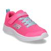Růžové dětské tenisky s modrými prvky skechers, růžová, 309-5615 - 13