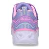 Fialové dětské sneakersky se svítícími srdíčky v podešvi skechers, fialová, 309-9619 - 15