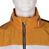 Černá pánská sportovní bunda s oranžovým a bílým pruhem bata, černá, 979-6596 - 16