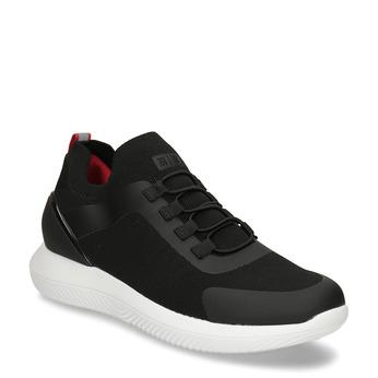 Černé pánské sportovní tenisky 3d-bounce, černá, 849-6603 - 13