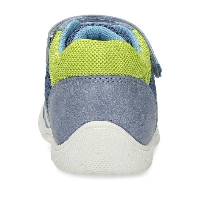 Chlapecké tenisky na suchý zip mini-b, modrá, 111-9601 - 15
