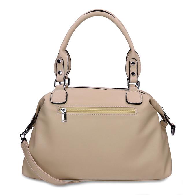 Béžová dámská kabelka střední velikosti bata, béžová, 961-8612 - 16