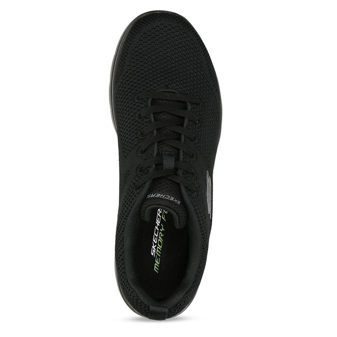 Černé pánské sportovní tenisky skechers, černá, 809-6273 - 17
