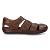 Hnědé pánské kožené sandály pikolinos, hnědá, 864-4612 - 19