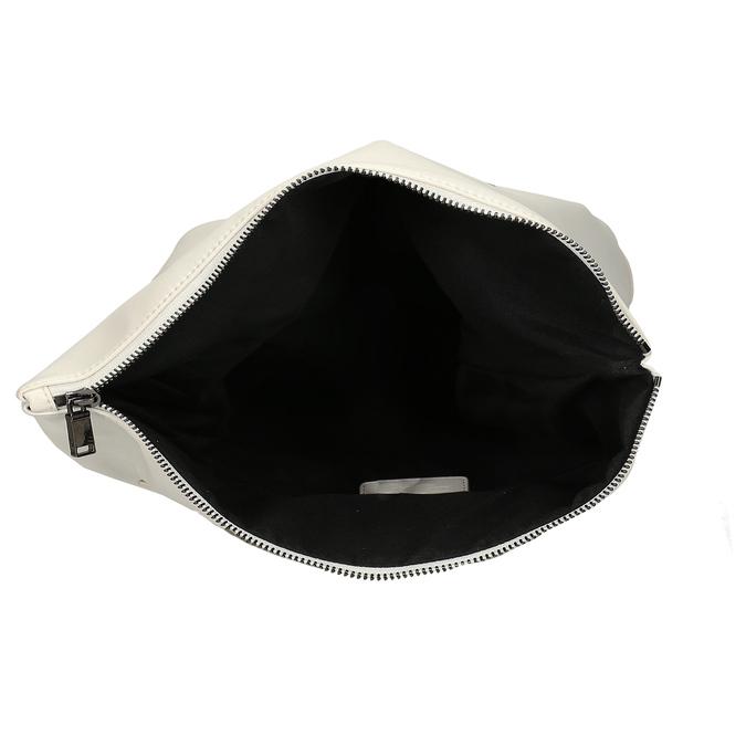 Bílý dámský městský batoh bata, bílá, 961-1640 - 15