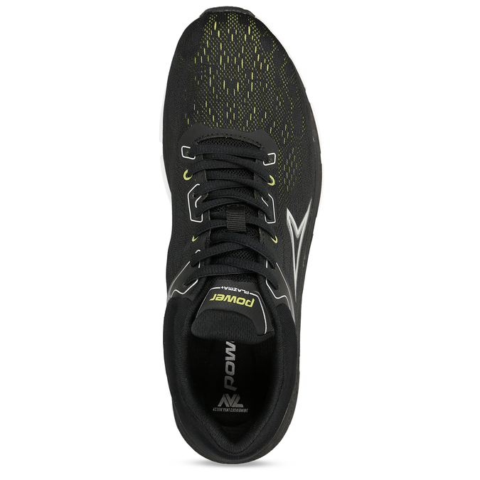 Černé pánské sportovní tenisky power, černá, 809-6620 - 17