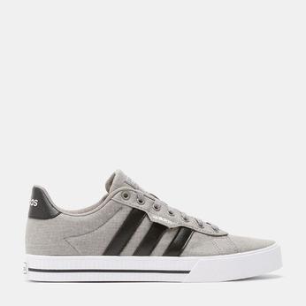 Šedé pánské tenisky na bílé podešvi adidas, šedá, 889-2372 - 13