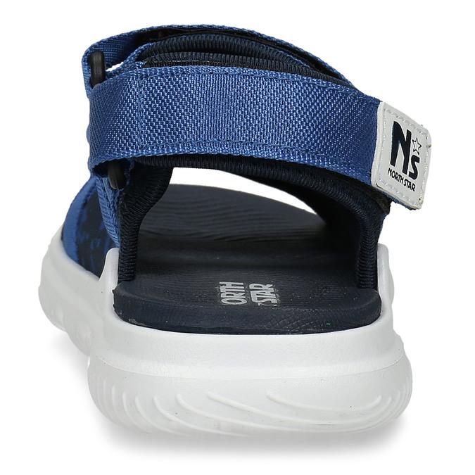 Modré dětské sandály north-star, modrá, 369-9630 - 15