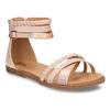 Neonové dětské sandály bullboxer, růžová, 464-5602 - 13