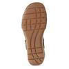 Černé dámské kožené sandály gabor, černá, 663-6600 - 18