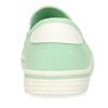 Zelené dámské textilní slip-on tenisky north-star, zelená, 539-7705 - 15
