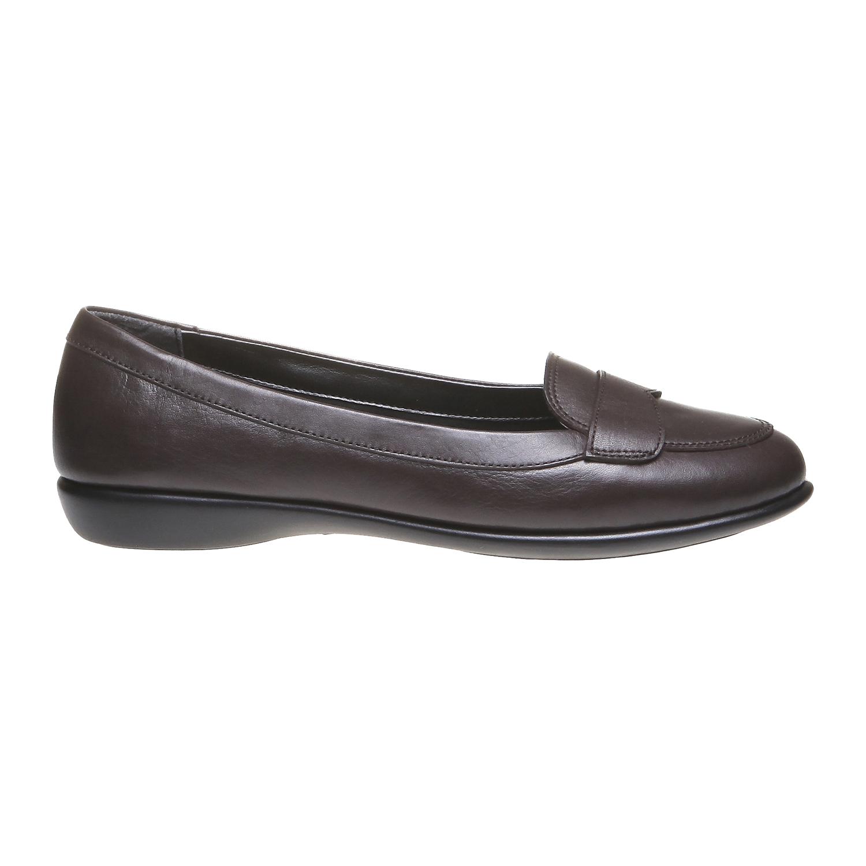 Roxy - nízká obuv bata, hnědá, 2018-514-4123 - 26