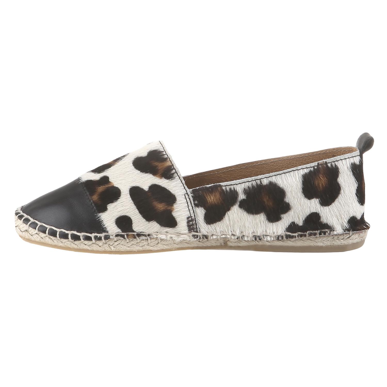 Výjimečné espadrilky s motivem leopardí kůže bata, bílá, 2017-555-1300 - 15