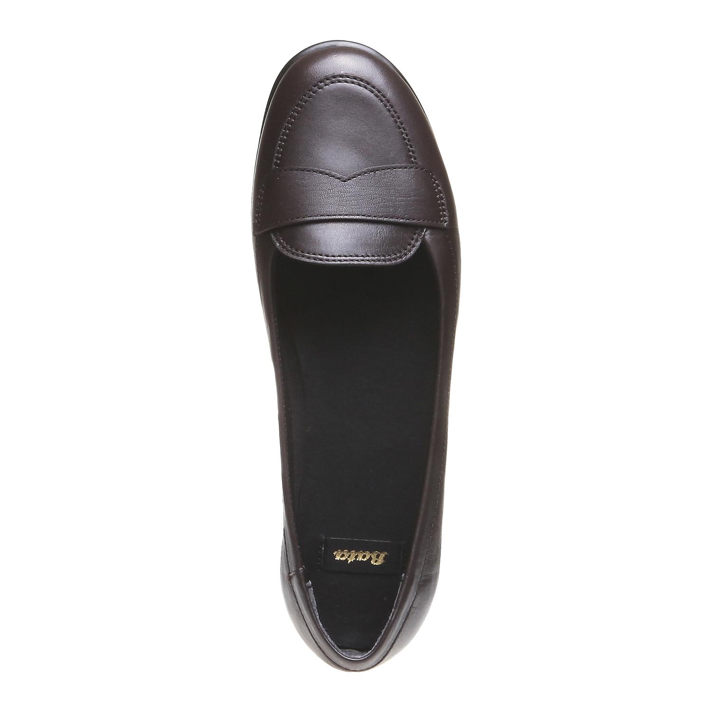 Roxy - nízká obuv bata, hnědá, 2018-514-4123 - 19