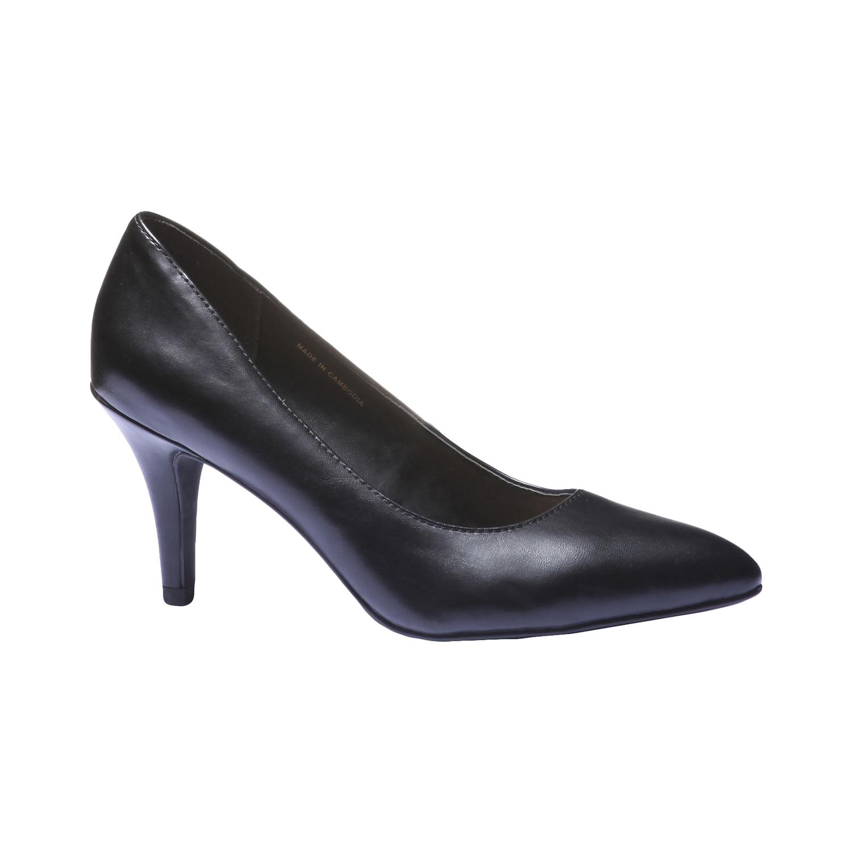 Lodičky na vysokém podpatku bata, černá, 2018-721-6290 - 13