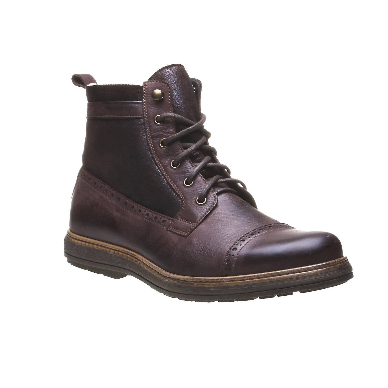 Andrew - kotníčková obuv v Brogue designu bata, 2019-894-4691 - 13