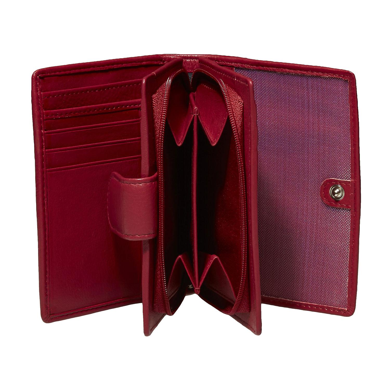 Dámská kožená peněženka bata, 2019-944-5517 - 15