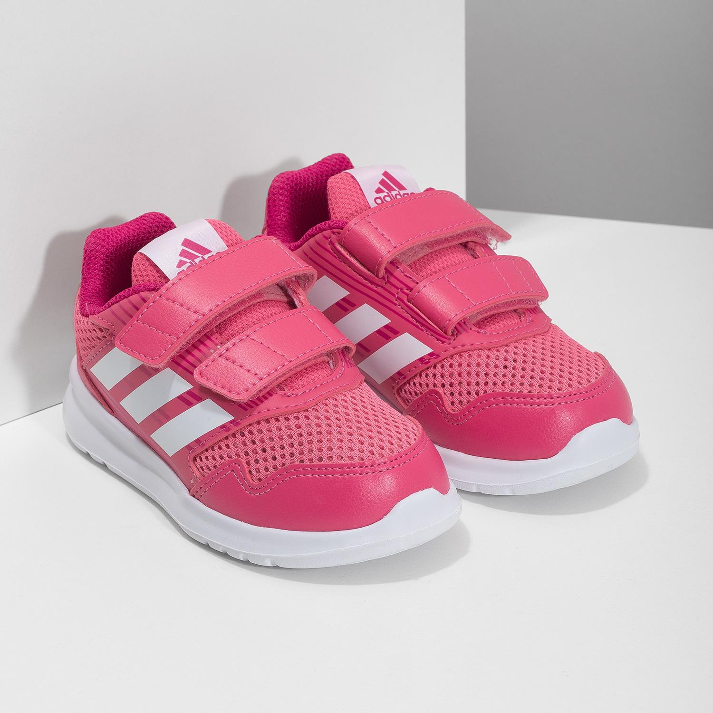 Adidas Růžové dětské tenisky - Nízké  4aa3dada53