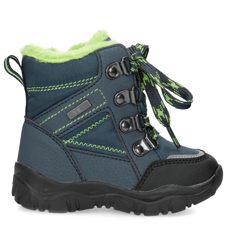 Bubblegummers Dětské sněhule s vázáním - Všechny chlapecké boty ... f4ed714454